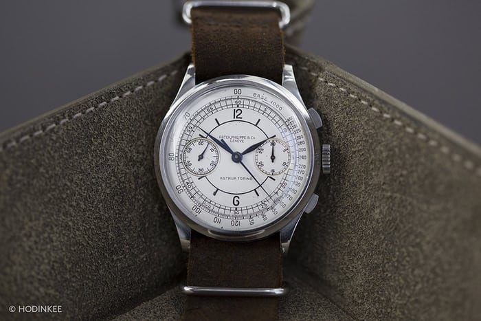 patek philippe 530 sector dial christies