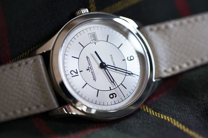 jaeger lecoultre master control date sector dial hands