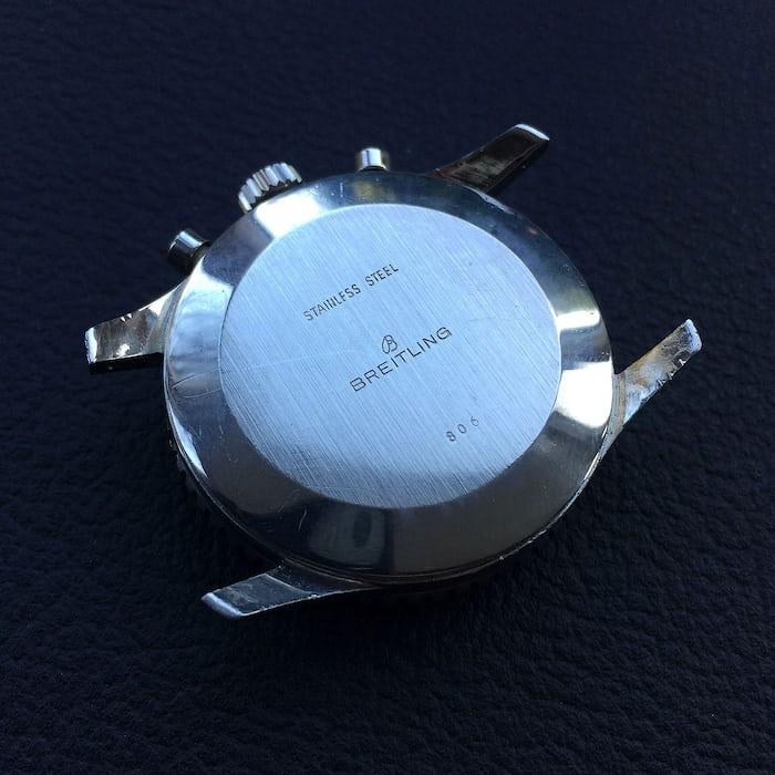Breitling Navitimer 806 Caseback