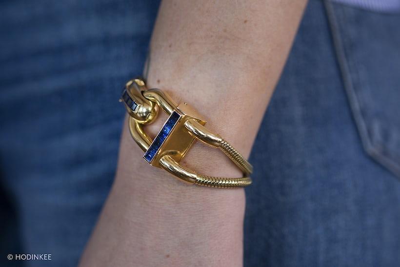 van cleef arpels cadenas watch wristshot