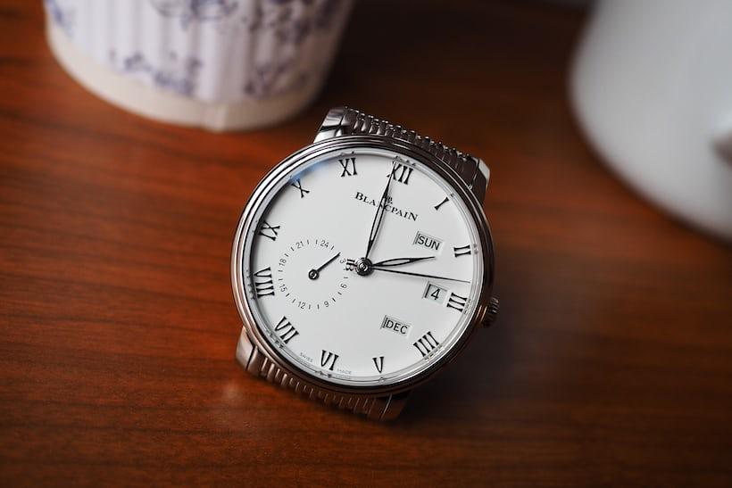 Blancpain Annual Calendar GMT dial