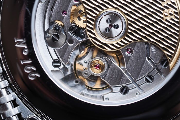 Blancpain caliber 6054F escapement
