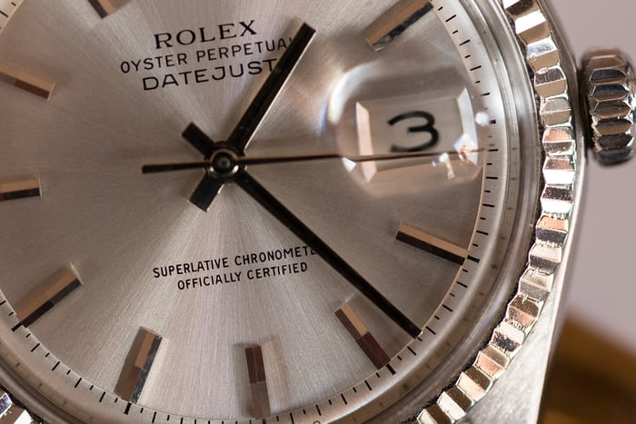 Rolex day date chronometer