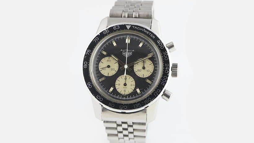 Heuer Autavia Ref. 2446C watches of knightsbridge