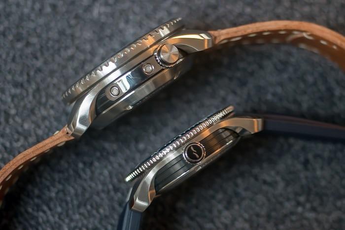 Bremont Supermarine Type 300 and Type 301 thickness