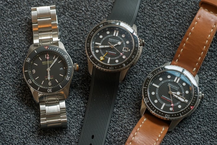 Bremont Supermarine Type 300 and Type 301