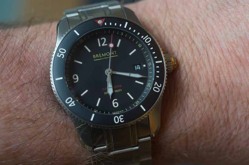Bremont Supermarine Type 300 and Type 301 bracelet