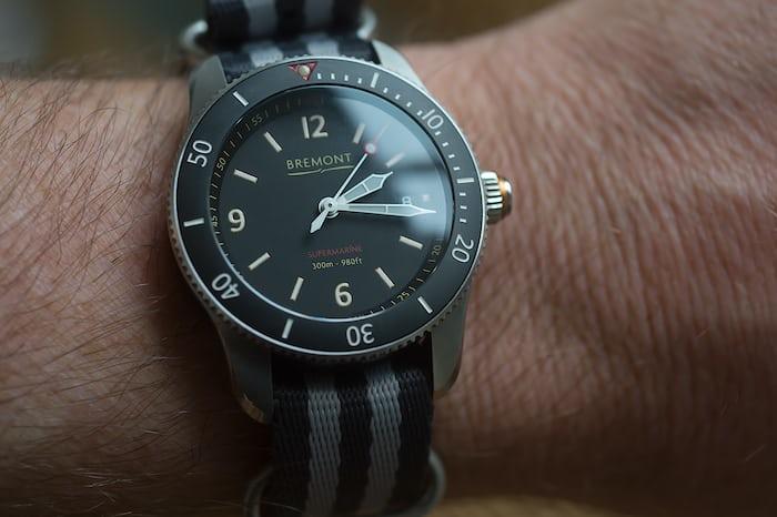 Bremont Supermarine Type 300 wristshot
