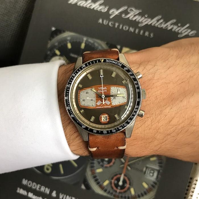 Yema Rallye Chronograph
