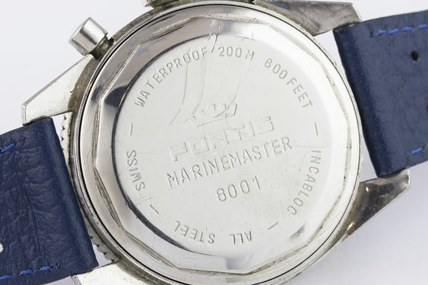 Fortis Marinemaster caseback