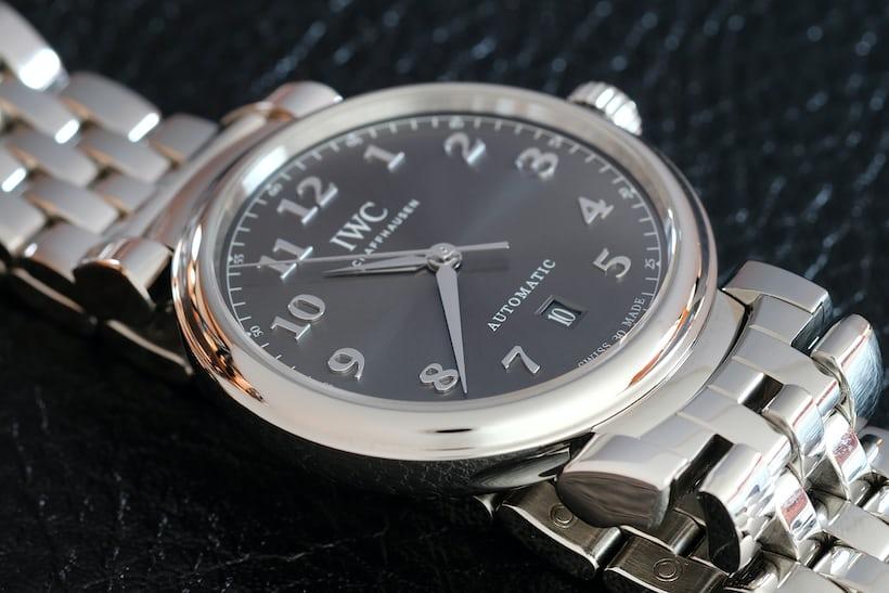 IWC Da Vinci Automatic dial grey