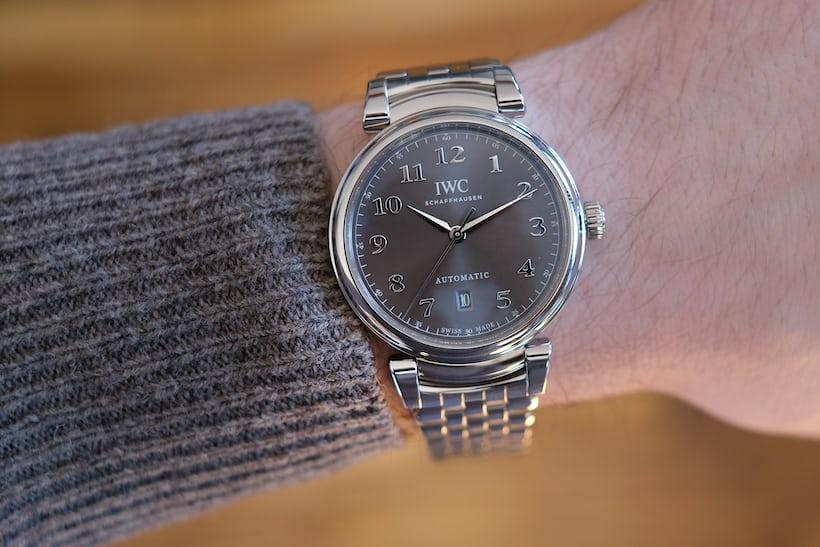 IWC Da Vinci Automatic wristshot