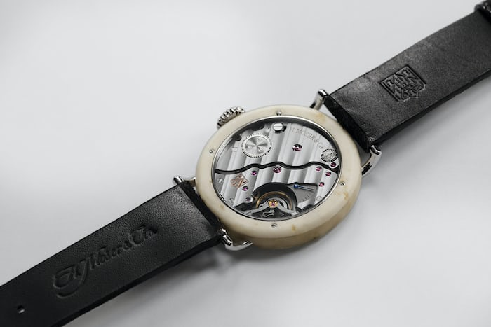 h moser swiss mad watch cheese
