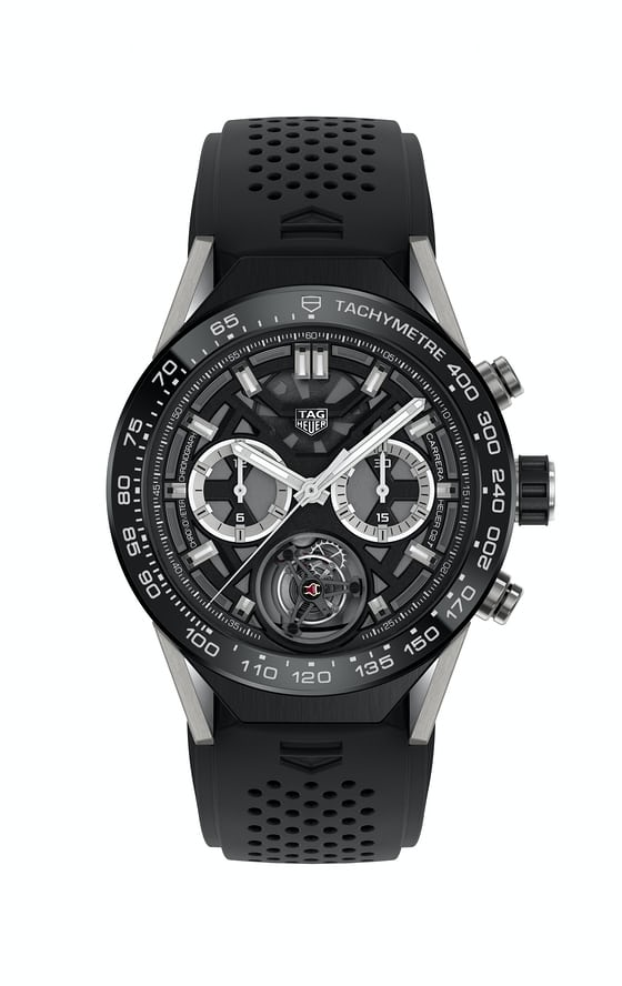 tag heuer tourbillon Calibre 02t