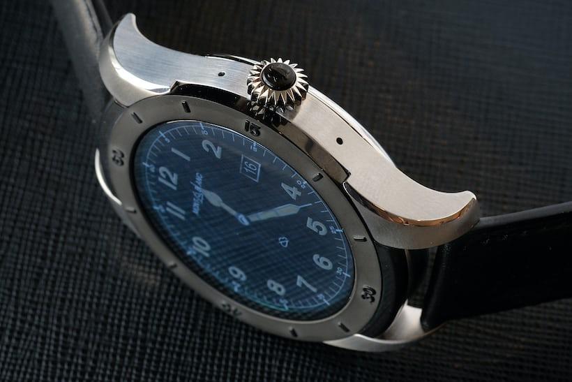 Montblanc Summit smartwatch 1858 case
