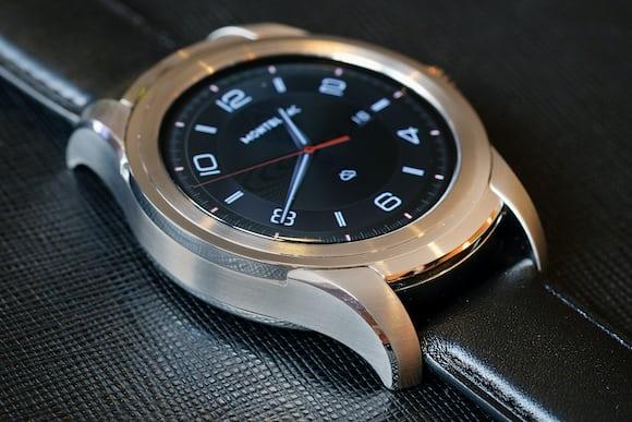 Montblanc Summit smartwatch sapphire crystal