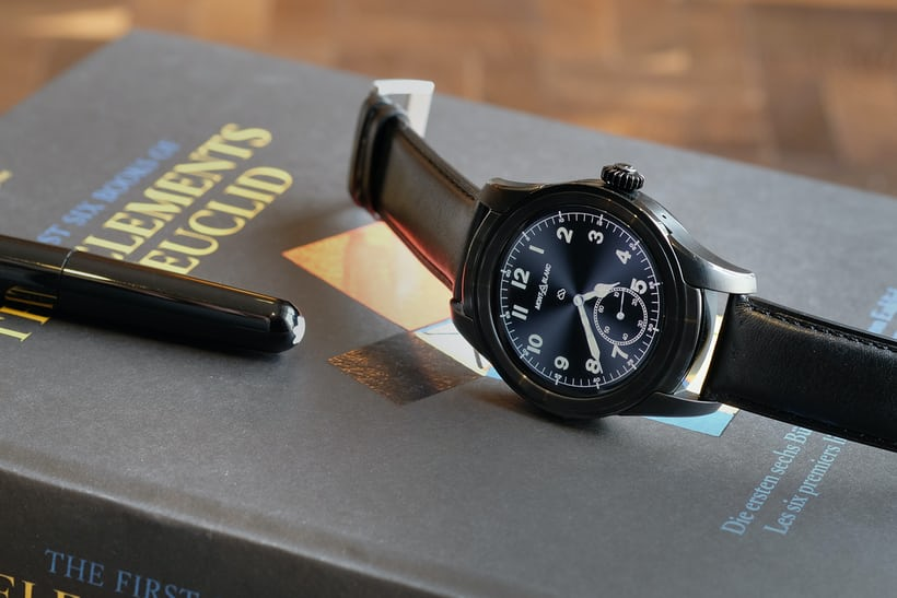 Montblanc Summit smartwatch black pvd