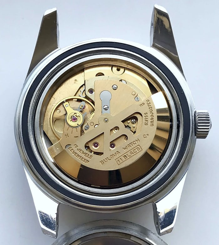 Bulova Oceanographer Automatic movement