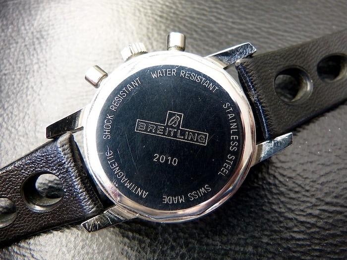 Breitling Sprint caseback 2010