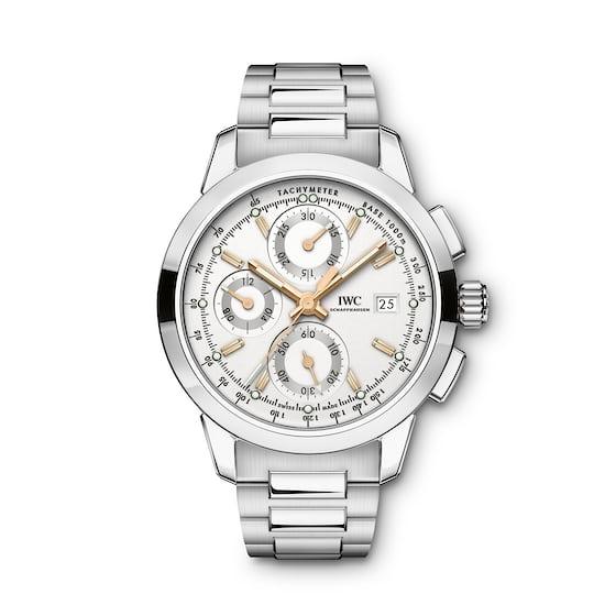 iwc ingenieuer chronograph white dial 2017