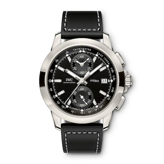 iwc ingenieur chronograph black dial 2017