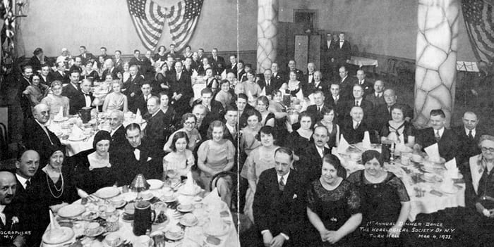 HSNY's First Annual Gala, March 4, 1933