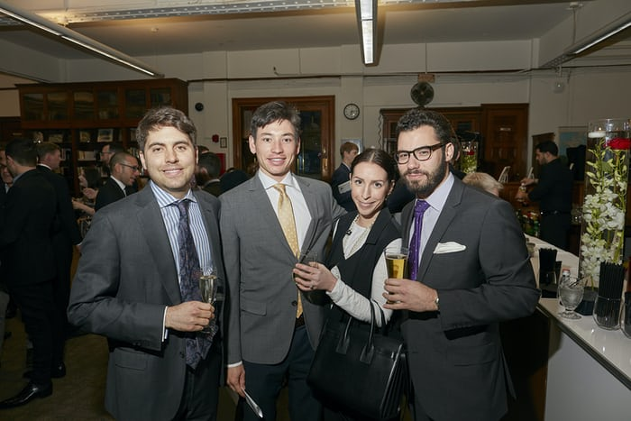 Guests enjoying HSNY's 150th Anniversary Gala in March 2016