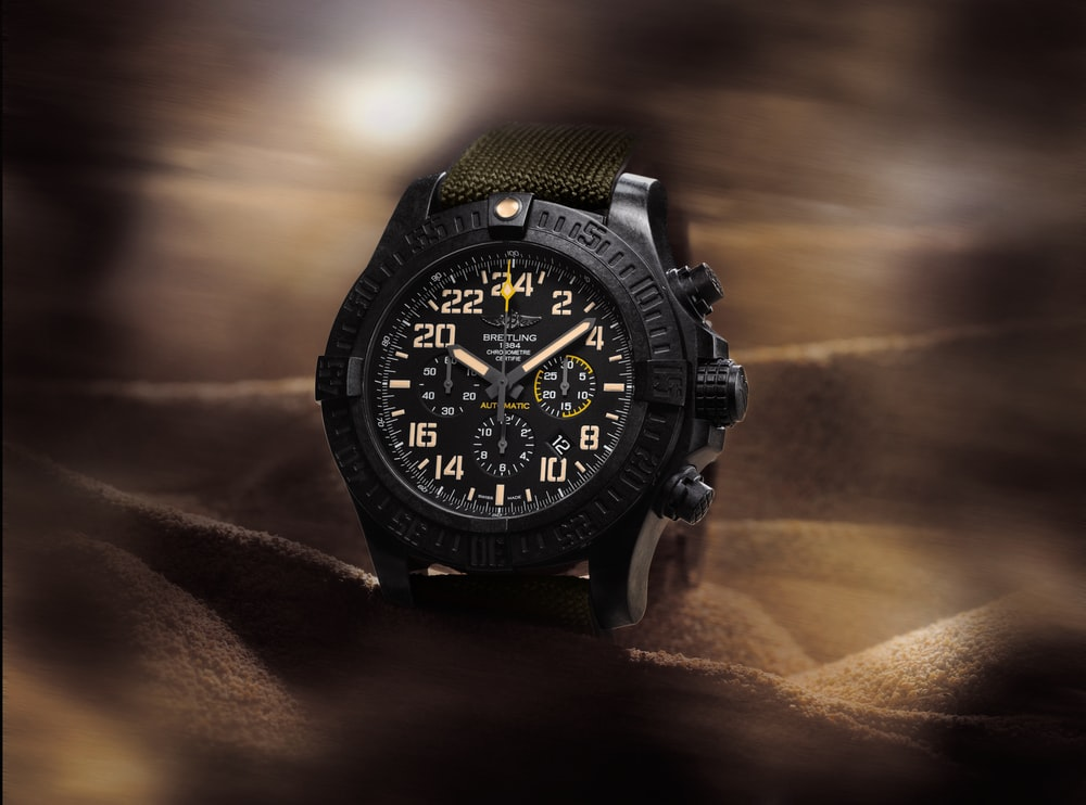 Introducing The Breitling Avenger Hurricane Military