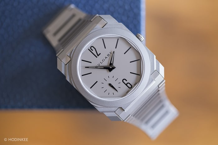 Bulgari Octo Finissimo Automatique dial side