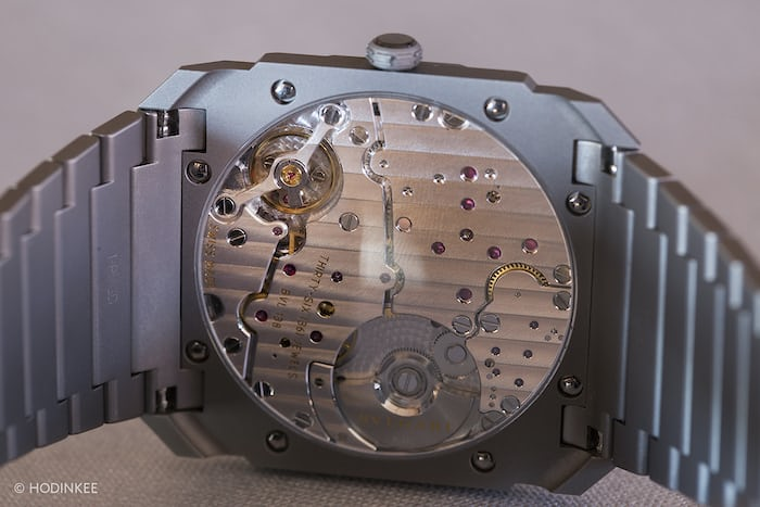 Bulgari Octo Finissimo Automatique movement