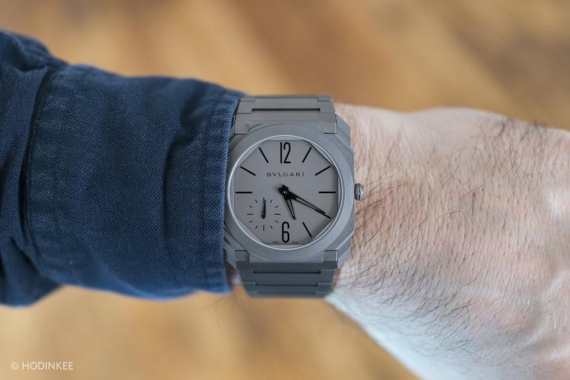 Bulgari Octo Finissimo Automatique wrist shot