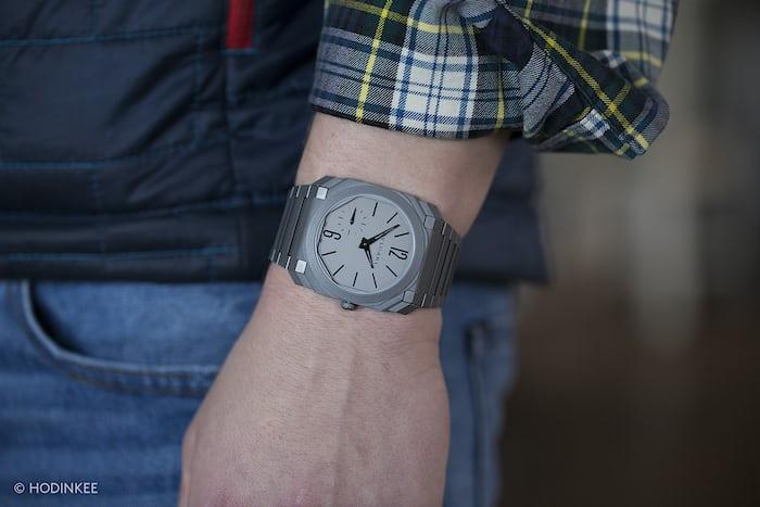 Bulgari Octo Finissimo Automatique second wrist shot