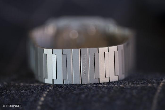 Bulgari Octo Finissimo Automatique bracelet and clasp
