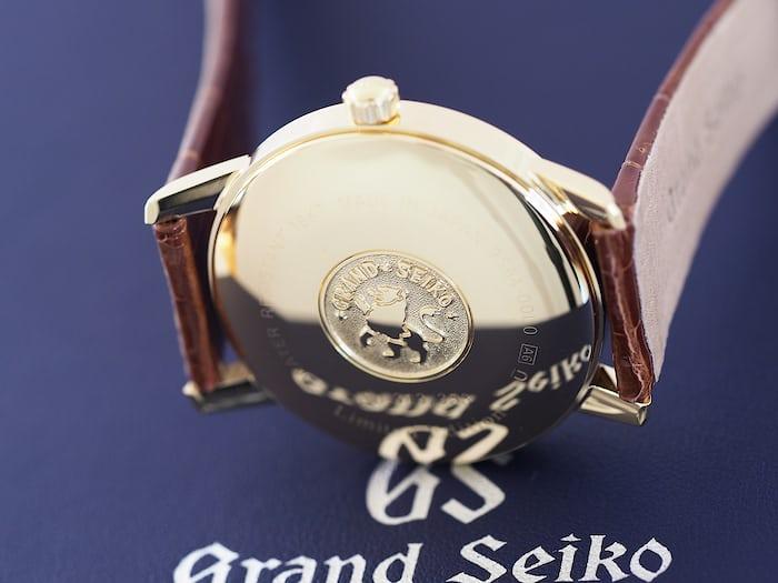 SBGW252 Grand Seiko caseback