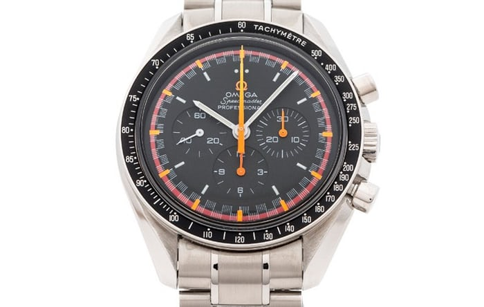 The Omega Speedmaster Racing Reference 3570.40 released for the Japanese market in 2004.