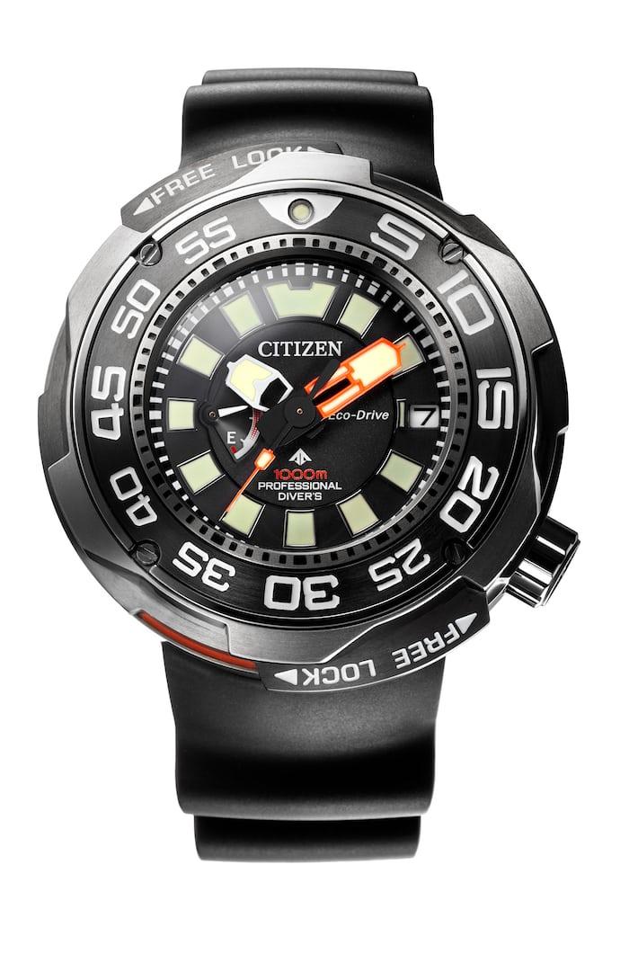 Citizen Eco-Drive Professional Diver 1,000M Ref. BN7020-09