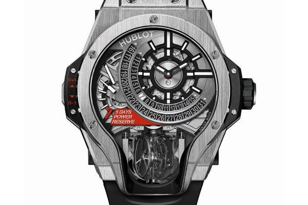 MP-09 Tourbillon Bi-Axis titanium hublot