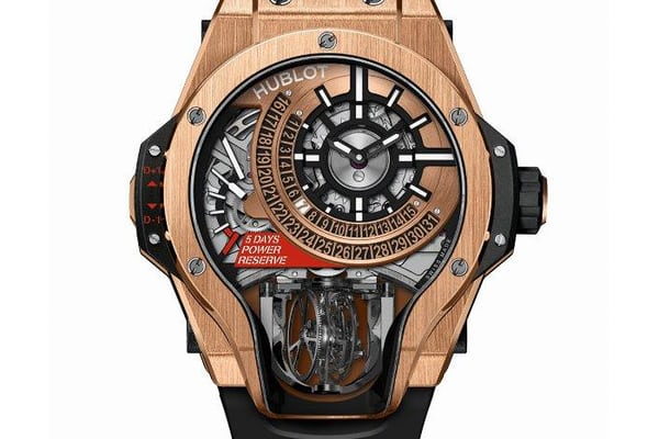 hublot MP-09 Tourbillon Bi-Axis king gold