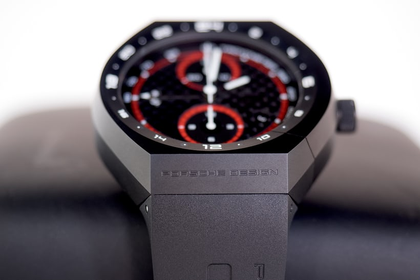 Porsche Design Monobloc Actuator GMT Chronograph case side