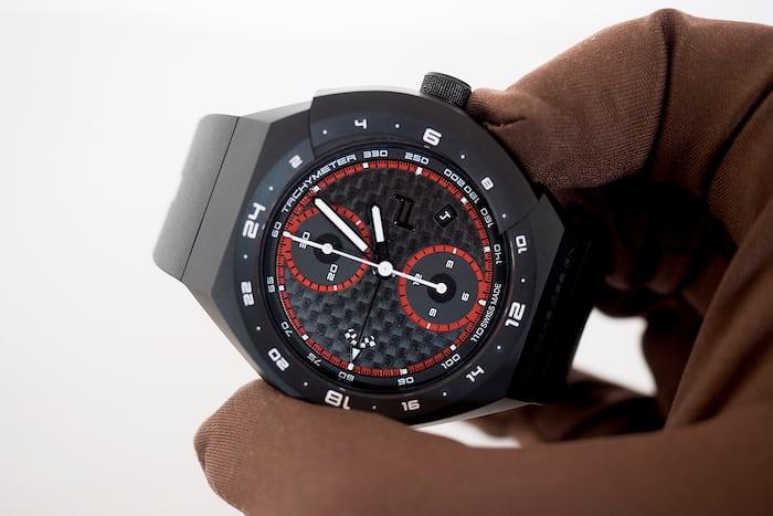 Porsche Design Monobloc Actuator GMT Chronograph chronograph re-set