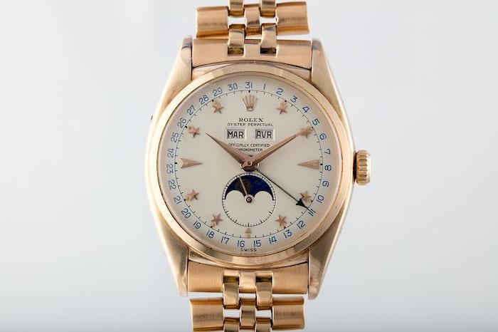 Rolex 6062 rose gold