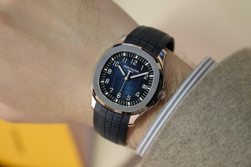 ref. 5168G aquanaut wristshot