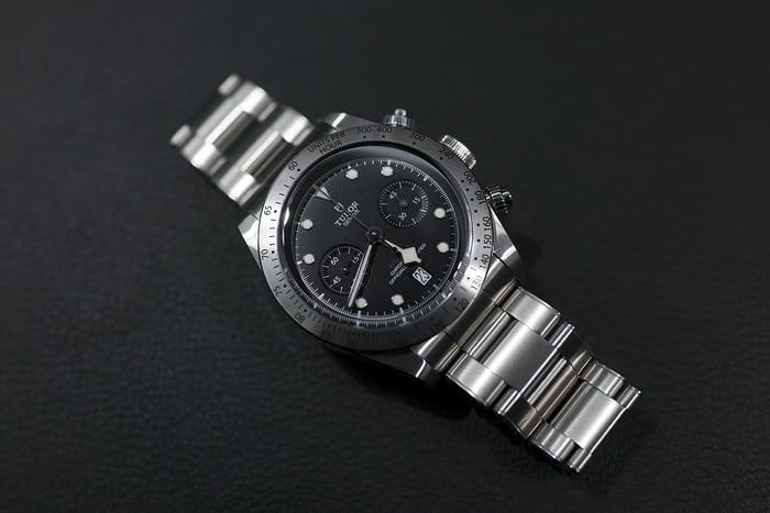 Tudor Black Bay Chrono bracelet