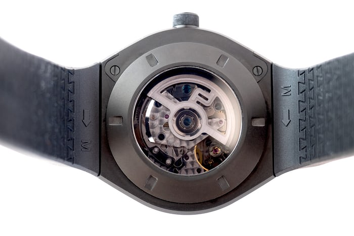 Porsche Design Monobloc Actuator GMT Chronograph case back