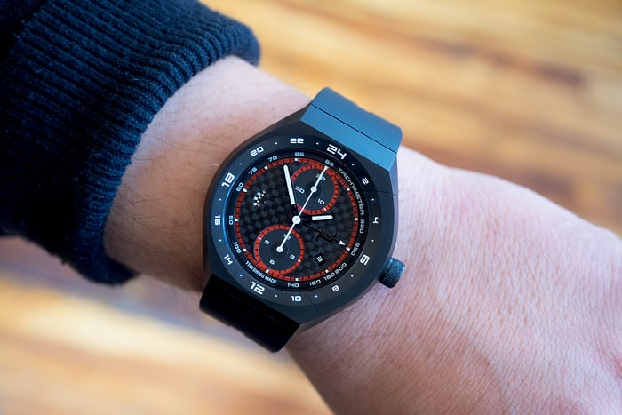 Porsche Design Monobloc Actuator GMT Chronograph wrist shot