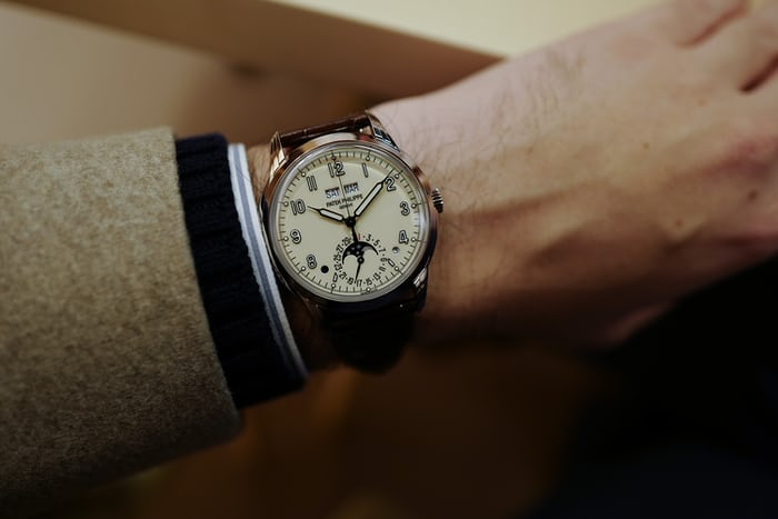 Patek Philippe 5320G wristshot