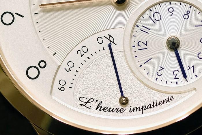 Slim d'Hermès L'Heure Impatiente