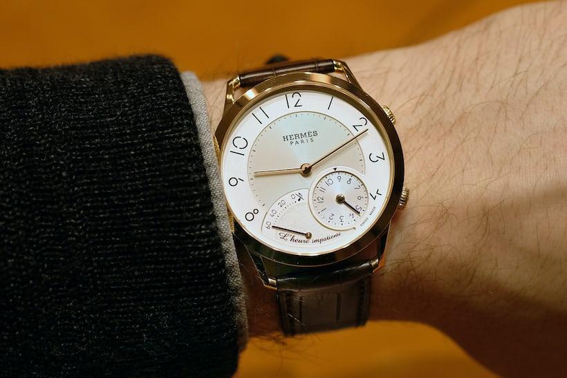 Slim d'Hermès L'Heure Impatiente wristshot