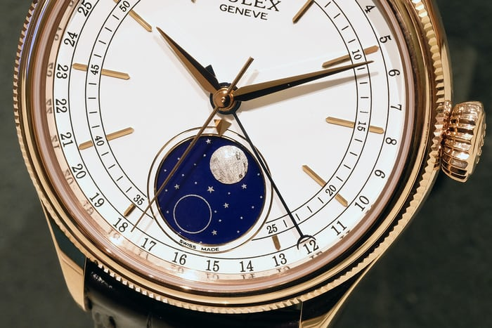 Rolex Cellini moonphase complication