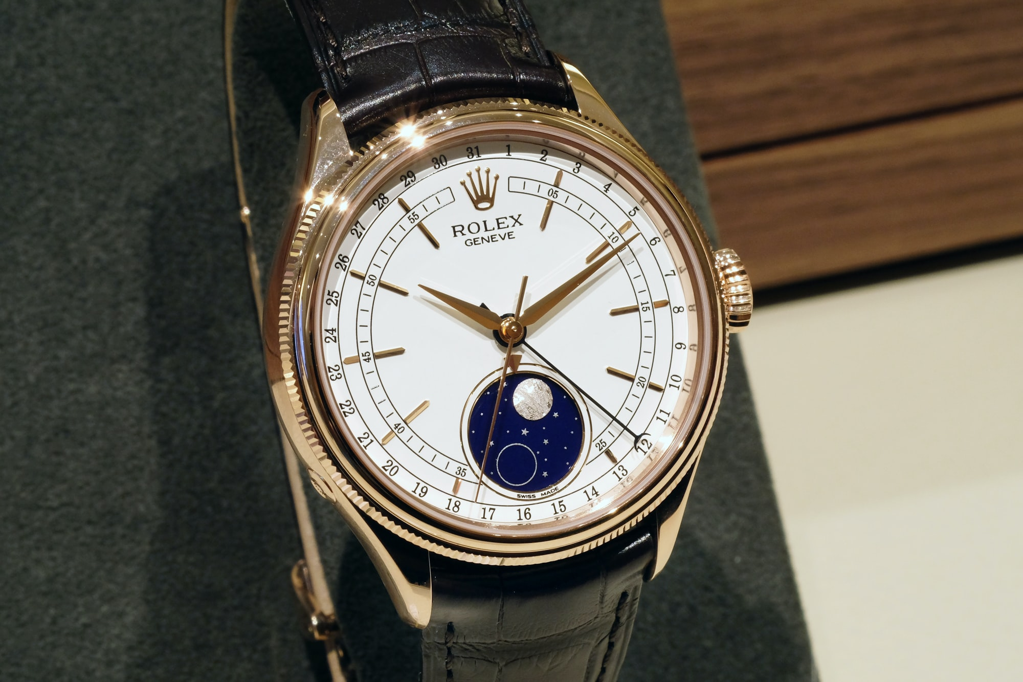 Introducing The Rolex Cellini Moonphase (Live Pics